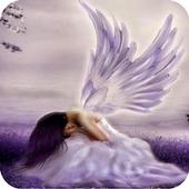 3D Angel icon