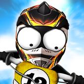 Stickman Downhill Motocross icon