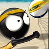 ikon Stickman Volleyball