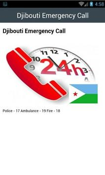 Djibouti Emergency Call screenshot 1