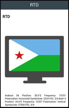 TV Info Djibouti List screenshot 1