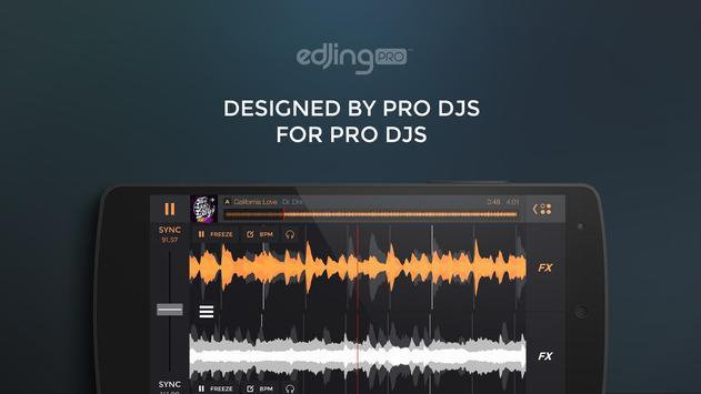 edjing Pro LE - consola de DJ Poster