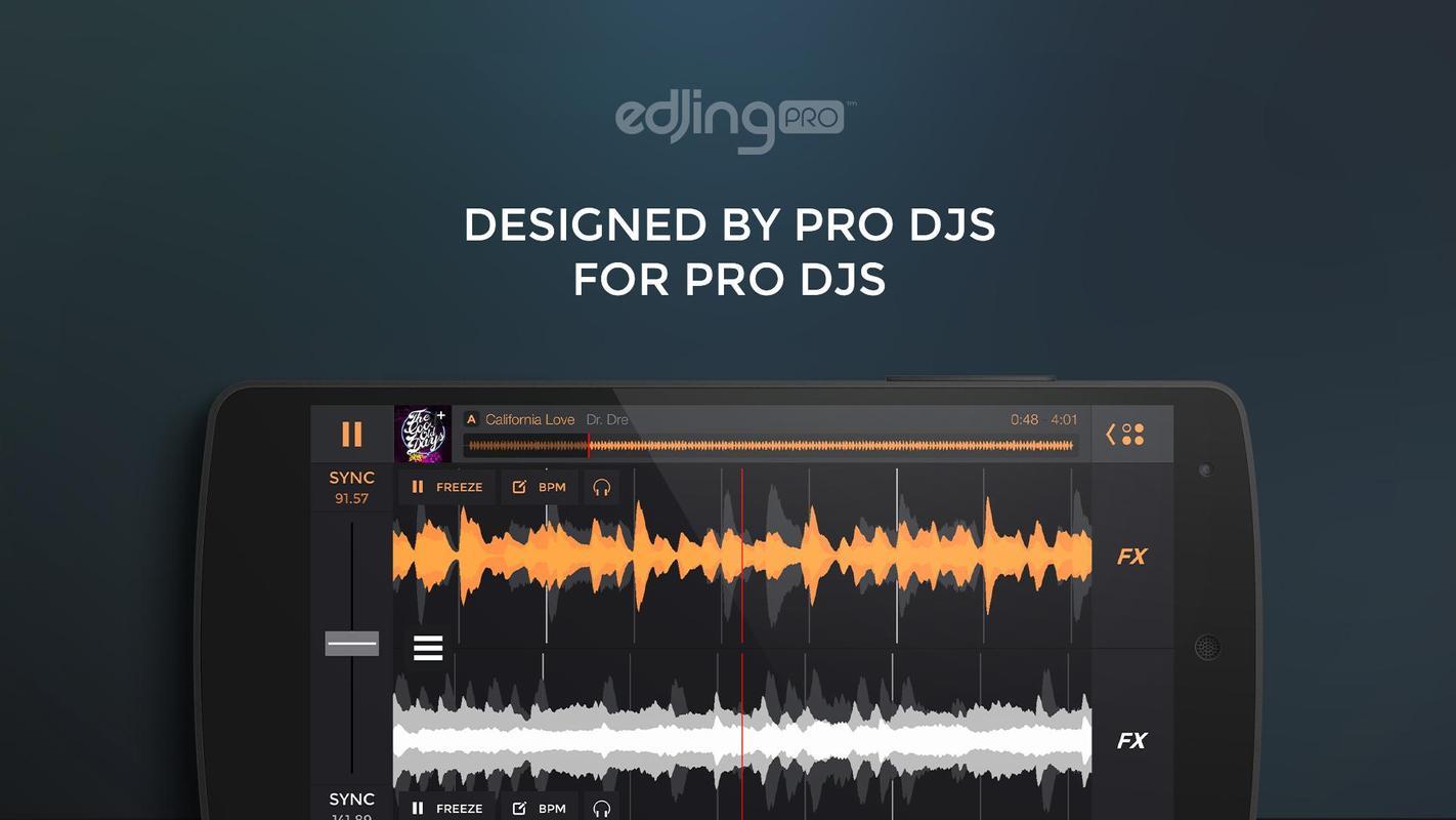 edjing pro dj mixer turntables v1 1.2 apk