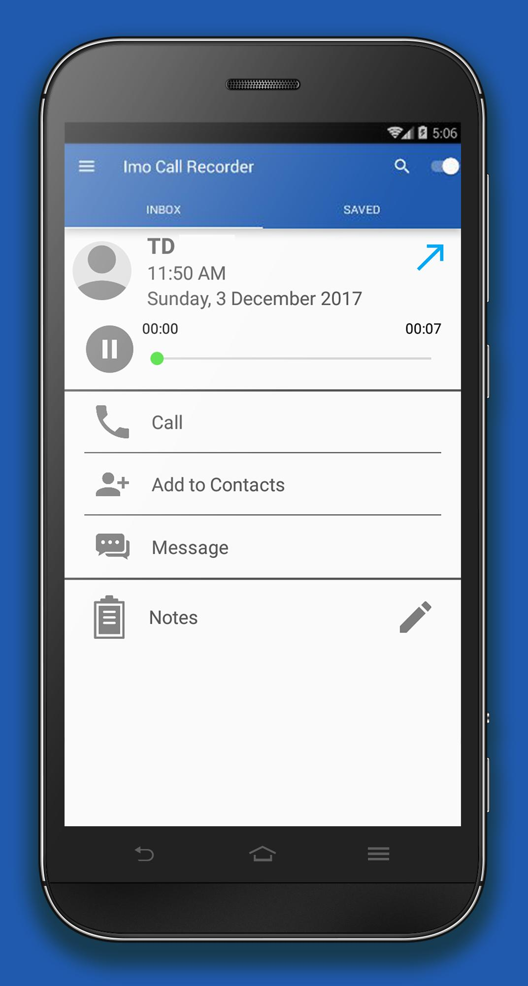 Call Recorder For Imo - Pro for Android - APK Download