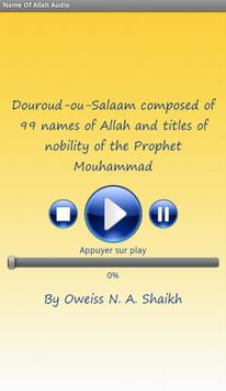 Names of Allah Audio poster