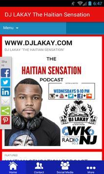 DJ LAKAY The Haitian Sensation poster