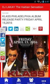DJ LAKAY The Haitian Sensation screenshot 1