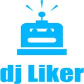 dj liker - free facebook likes icon