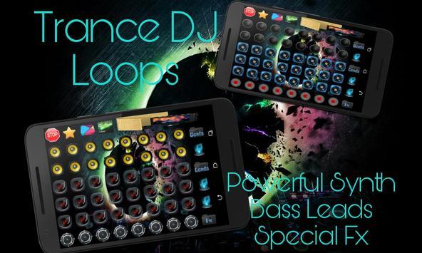 Electronic Trance Dj Pad Mixer poster