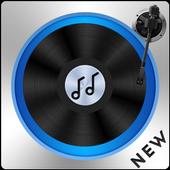 dj mixer player + remixer music icon