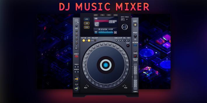 dj mixer player + remixer music apk screenshot