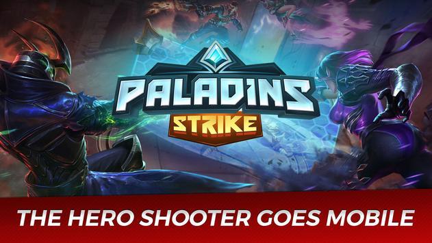 Paladins Strike poster