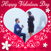 Valentine's Day Love Photo Frames 2018 DP Editor icon
