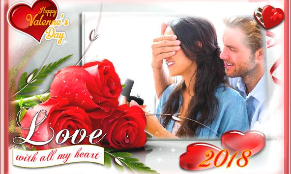 Valentine's Day Love Photo Frames 2018 DP Editor screenshot 13