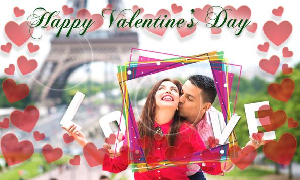 Valentine's Day Love Photo Frames 2018 DP Editor screenshot 7