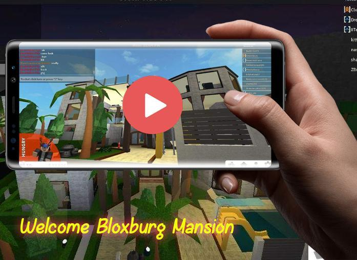Steps Building Roblox Welcome Bloxburg Mansion For Android