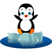the warrior crazy penguin icon