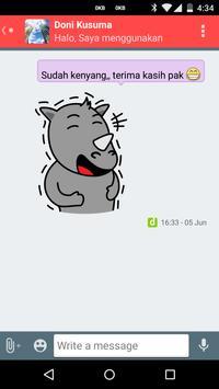 IMES (Indonesia Messenger) screenshot 2