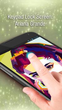 Keypad Lock Screen: Ariana Grande screenshot 4