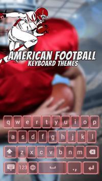 American Football Keyboard Themes poster