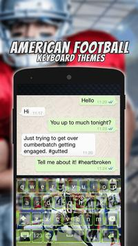 American Football Keyboard Themes screenshot 7