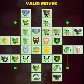 Pikachu animal classic connect apk screenshot