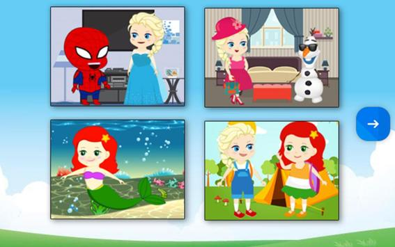 Princesses & Heroes - Puzzle screenshot 1