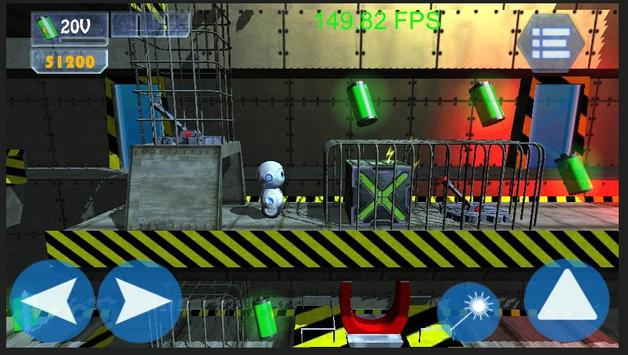 Roller Bot 3D Beta apk screenshot