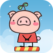 Pig Peppy Jump icon