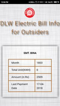 DLW Electric Bill Info for Outsiders screenshot 2