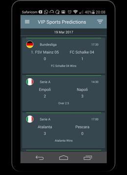 VIP Sports Prediction apk screenshot