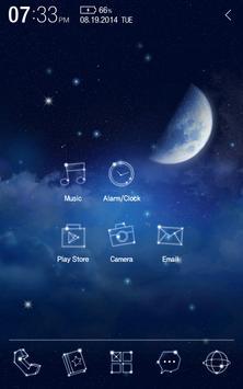 Twinkle Star Atom Theme poster