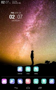 Under the stars Atom theme screenshot 6