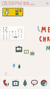 alone christmas_ATOM theme poster