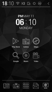 Black Prism Atom Theme apk screenshot