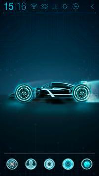 Black Racer Atom Theme poster