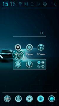 Black Racer Atom Theme apk screenshot