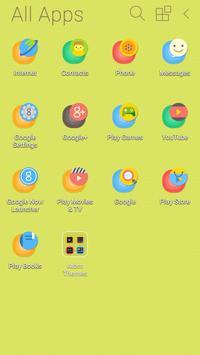Color Pop Atom Theme apk screenshot