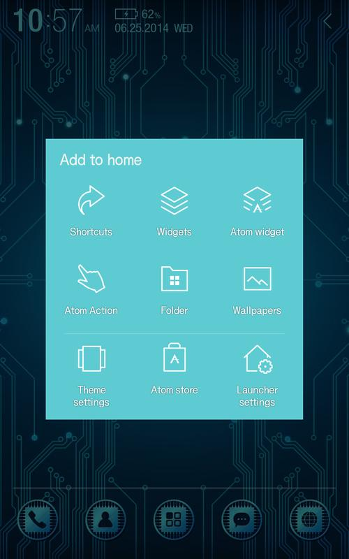 High Tech Atom Theme Apk Download Free Personalization App For