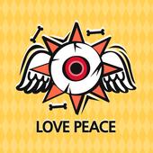 LOVE PEACE Atom Theme icon