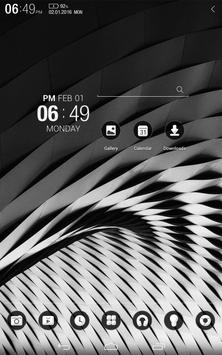 Monocolor Atom Theme apk screenshot