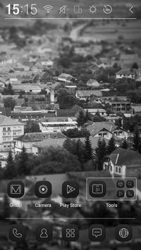 Mono City Atom Theme apk screenshot