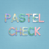 Pastel Check Atom Theme icon