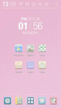 Pastel Check Atom Theme apk screenshot