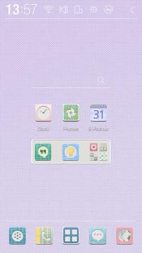 Pastel Check Atom Theme screenshot 2