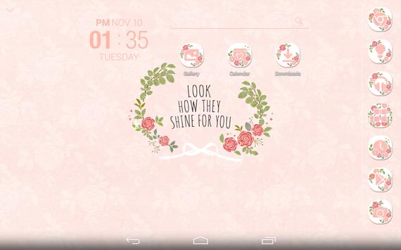 Shining Rose Atom Theme screenshot 7