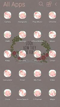 Shining Rose Atom Theme screenshot 3