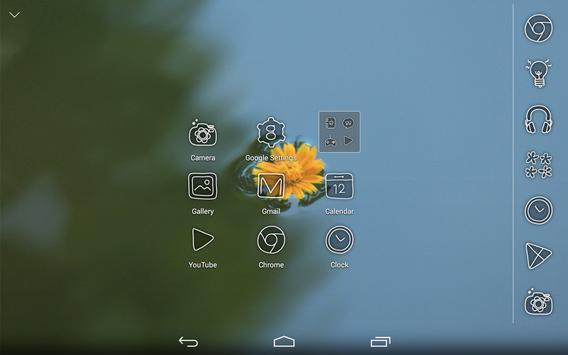 Slow flower Atom theme apk screenshot