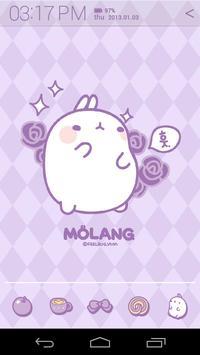 Molang Scent of Violet Atom apk screenshot