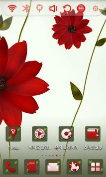 Daisy Flower Launcher Theme apk screenshot